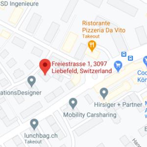 Google Map Daniela Döbeli Bern